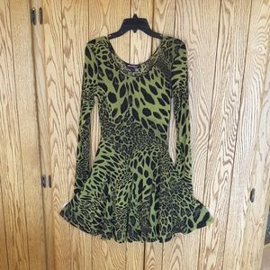 Betsey Johnson fit and flare dress